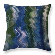 Art Therapy  Throw Pillow