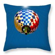 Balloon Festival 2015 Throw Pillow