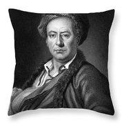 Benjamin Franklin (1706-1790) Throw Pillow