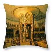 Canaletto Throw Pillow