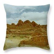 Chaco Canyon Ruins 7 Throw Pillow