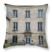 Chantilly France Street Scenes Throw Pillow