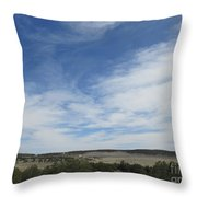 Concho Landscape Throw Pillow