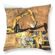 construction whsd Peterburg Throw Pillow