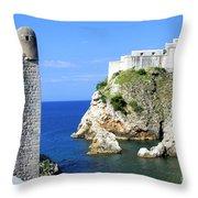 Croatia, Dubrovnik Throw Pillow