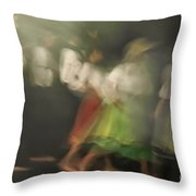 Dancers In Motion  Throw Pillow