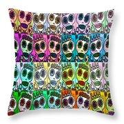 Dod Art 123 Throw Pillow