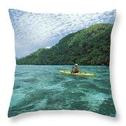 Fiji, Kadavu Island Throw Pillow