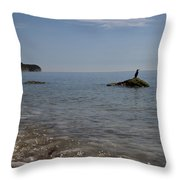 Flamborough Head Throw Pillow