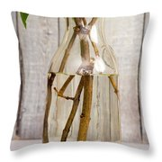 Flowers - Freshly Cut Lilacs Throw Pillow