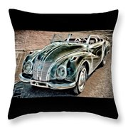 Former East Germany I F A Car Throw Pillow