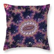 Fractal, Pattern, Kaleidoscope, Art Throw Pillow