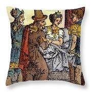 Galen, 129-c200 A.d. Throw Pillow