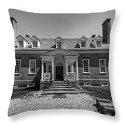 George Mason's Gunston Hall Throw Pillow
