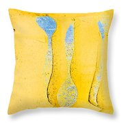 Grungy Background Throw Pillow