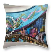High Roller - Las Vegas Nevada Throw Pillow