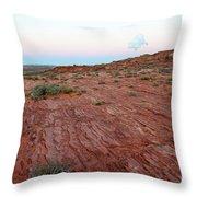 Horseshoe Bend Colorado River Arizona Usa Throw Pillow