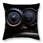 Industrial #05. Color. Throw Pillow