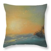 Ivan Konstantinovich Aivazovsky Throw Pillow