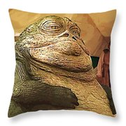 Jedi Star Wars Poster Throw Pillow