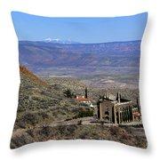 Jerome Arizona Throw Pillow