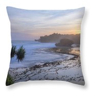 Kukup Beach - Java Throw Pillow