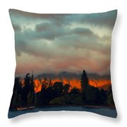 Landscape Paintings Throw Pillow