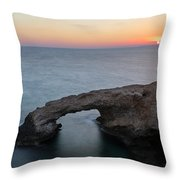 Love Bridge - Cyprus Throw Pillow