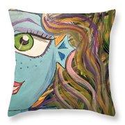 Monster High  Throw Pillow