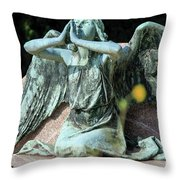 Monumental Cemetery Of Staglieno Throw Pillow