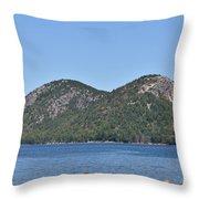 Mountain's View Throw Pillow