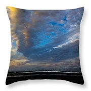 My Private Beach  Throw Pillow