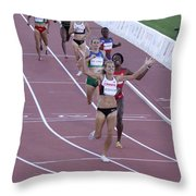 Pam Am Games Athletics Throw Pillow
