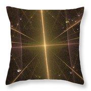 Light Force Throw Pillow