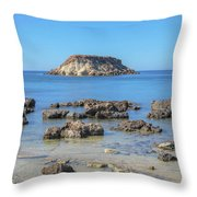 Pegeia - Cyprus Throw Pillow