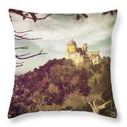 Pena Palace Throw Pillow