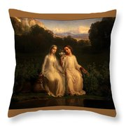 Poem Of The Soul  Throw Pillow