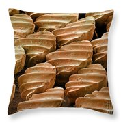 Sandbar Shark Skin, Sem Throw Pillow