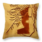 Sign - Tile Throw Pillow