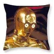Star Wars 3 Poster Throw Pillow