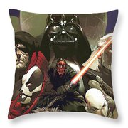 Star Wars For Poster Throw Pillow