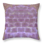 Sukkot-ushpizin Prayer- The Hosts... Throw Pillow