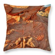 Sunrise On Valley Of Fire Throw Pillow