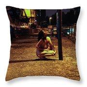 Tasha Holz Throw Pillow