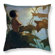 The Water Babies Throw Pillow