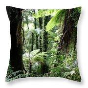 Tropical Jungle 2 Throw Pillow