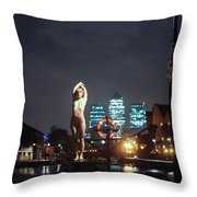 Vincent L Throw Pillow