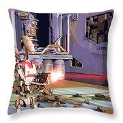 Vintage Star Wars Art Throw Pillow