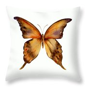 7 Yellow Gorgon Butterfly Throw Pillow