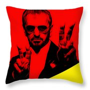 Ringo Starr Collection Throw Pillow
